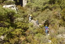 Randonnée-rappel Dans L'Hérault Au Verdus Près De Montpellier