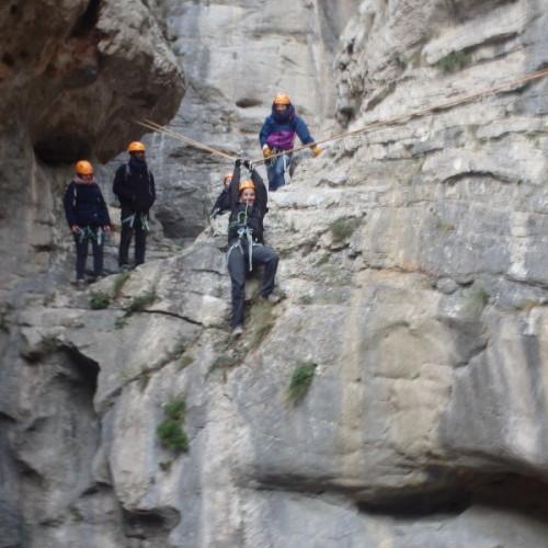 Randonnée-rappel Dans L'Hérault Près De Montpellier Au Canyon Du Verdus