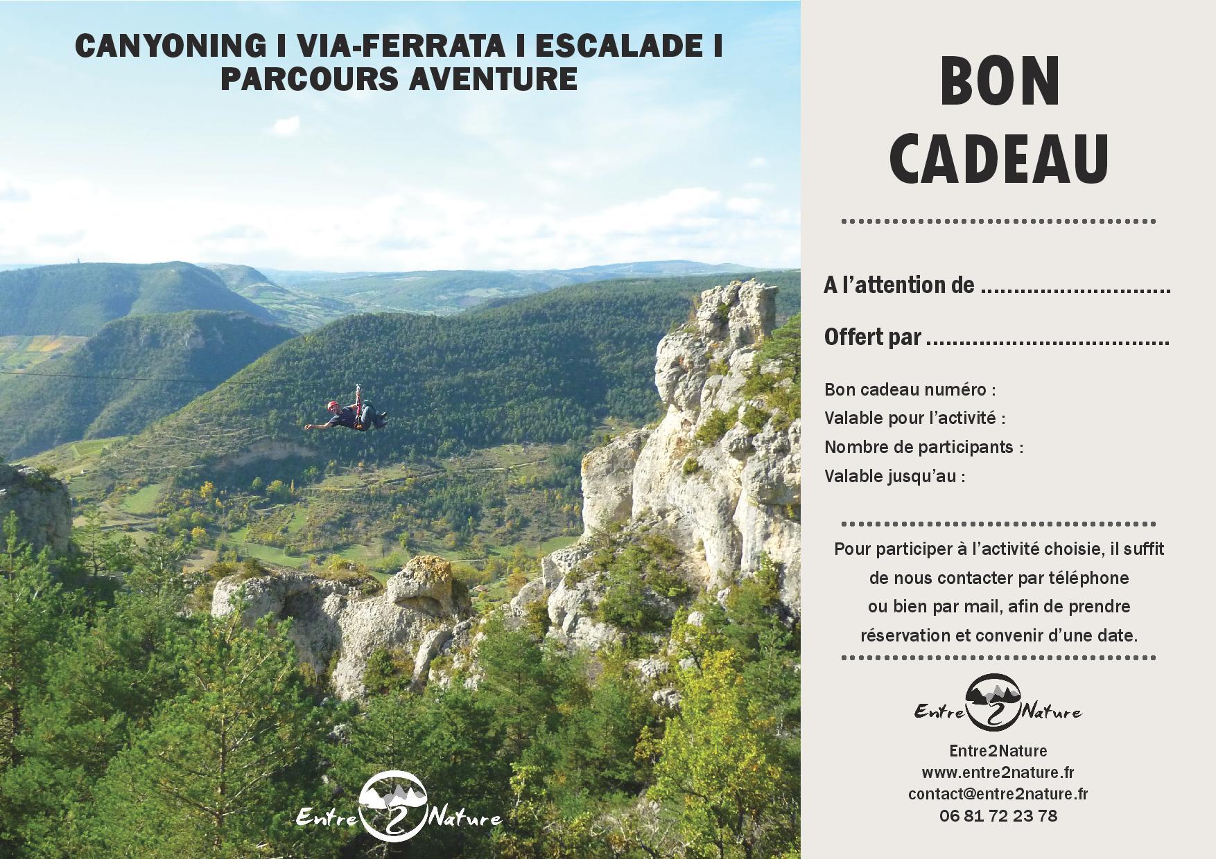 Bon Cadeau En Canyoning, Via-ferrata Et Escalade