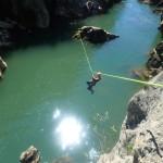 Tyrolienne Au Canyon Du Diable Près De Montpellier Dans L'Hérault Avec Les Moniteurs D'entre2nature